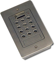 Picture of Videx 800F Flush 800 2 code 2 relay s/s code lock